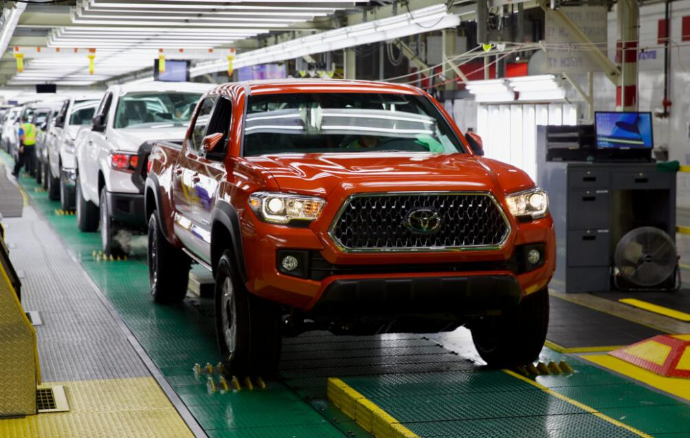 Toyota Injects $391 Million In Texas Truck Plant